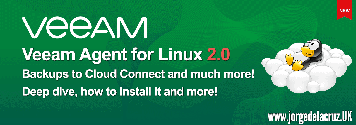 Veeam: Veeam Agent for Linux 2 0 is now available - Backups