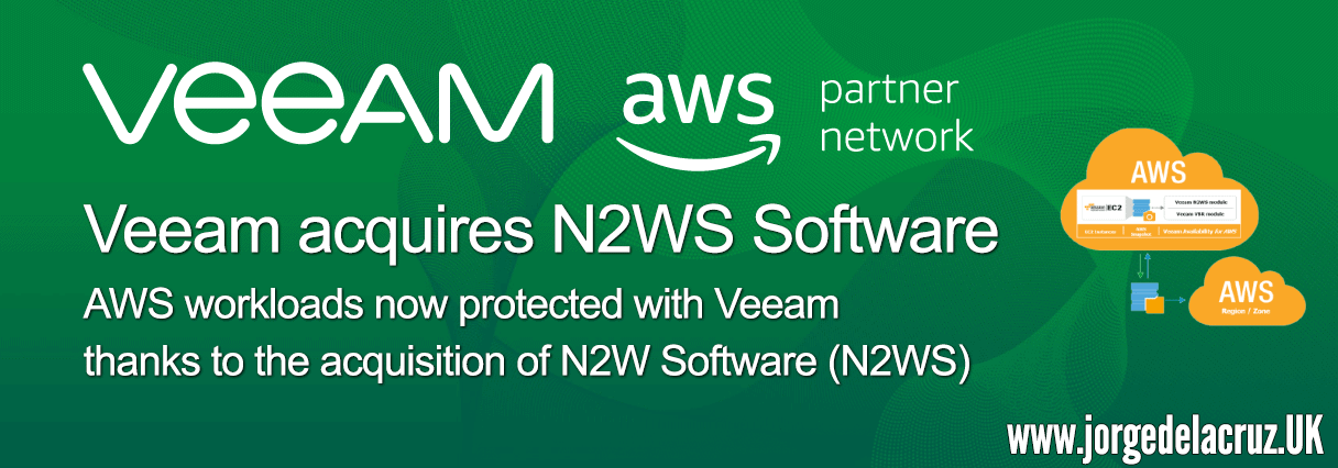 Veeam: AWS workloads now protected thanks to the Veeam's