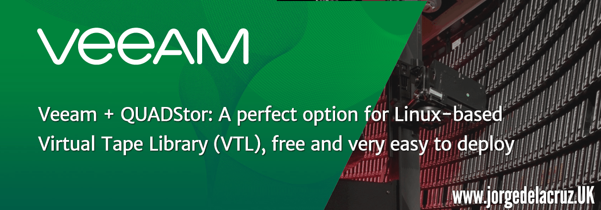 Veeam + QUADStor: A perfect option for Linux-based Virtual
