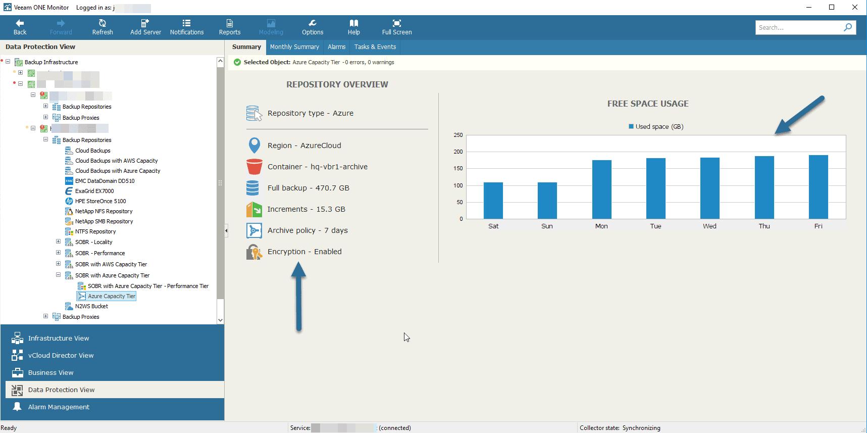 Veeam: Cloud Tier/Capacity Tier in Microsoft Azure Blob – Microsoft